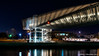 Dubai, United Arab Emirates: Dubai Water Canal Foot Bridge in the twisted shape of a DNA helix (nabobswims) Tags: ae bridge dubai dubaiwatercanal footbridge hdr helix highdynamicrange ilce6000 lightroom nabob nabobswims night nightfoto photomatix sel18105g sonya6000 uae unitedarabemirates