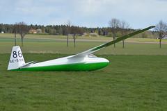 SE-SYH Ka-6CR at Motala, Sweden (Krister Karlsmoen) Tags: glider