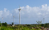 Wind Farm Damage (ep_jhu) Tags: missing 7d hurricanemaria puertorico windfarm canon maria puntadelima damage bluesky trees trash field blown pr debris windmills cleanenergy island recovery green broken windpower snapped vestas