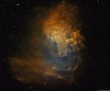 IC405 - The Flaming Star Nebula (alastair.woodward) Tags: ic405 nebula space flaming star skywatcher 130pds zwo asi1600 ha oiii sii hydrogen alpha sulphur oxygen astrophotography stars night sky