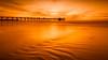 Copper (David Colombo Photography) Tags: scrippspier sunset copper colortone nikon d800 davidcolombo davidcolombophotography seascape color landscape pier orange sky sand