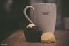 363 ~ 365 (BGDL) Tags: lightroomcc nikond7000 bgdl high5~365 niftyfifty afsnikkor50mm118g kitchen coffee latte mug chocolatemuffin shortbread coffeeandmuffinandmore