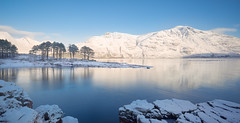 Oh the world in which we live (Richard:Fraser) Tags: special snow 2017 christmas new year scotland thehighlands snowylandscape scottishlandscapesnow scottishloch westernscotland