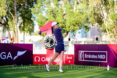 Lynn Carlsson of Sweden (andre_engelmann) Tags: 2017 6 9 december damen dubai golf lpga turnier ladies european tour omega masters runde tag gras vereinigten arabischen emirate