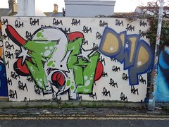 Fek (Stueydude) Tags: brighton graff graffiti burner wallart streetart art mural piece silver dub throwup brightongraff brightongraffiti graffporn graffitiporn
