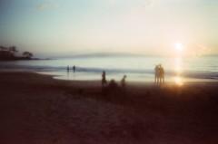 ...... (Jeremy Klapprodt) Tags: sunset carmexonlens lofi beach maui expiredfilm film disposablecamera