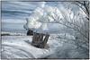 Crisp & Cold China (Welsh Gold) Tags: sy1225 coal train snow scene winter wujiucoalgroupline wu jiu inner mongolia china