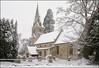 All Hallows in the Snow (Craig 2112) Tags: all hallows church hargrave snow