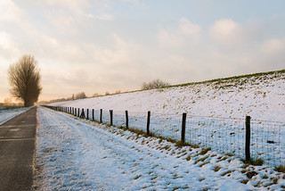 Country road in wintertime - HFF