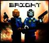 BRIGHT (LegoKlyph) Tags: netflix bright will smith orcs elves humans tv movie cops evil dark lord lego brick block mini figure