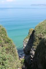 IMG_3699 (avsfan1321) Tags: ireland northernireland unitedkingdom uk countyantrim ballycastle carrickarede carrickarederopebridge nationaltrust landscape green blue ocean atlanticocean