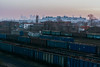 IMG_0577 (1_spacecake) Tags: railroad rail warsaw train deliver cargo winter poland cold perspective abstract lonely urban city photo photography canon550d canon 50mm tree sky car
