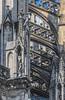 Strebwerk am Kölner Dom (ulrichcziollek) Tags: nordrheinwestfalen köln kirche kathedrale kirchen dom steinmetzarbeiten strebpfeiler gotik gotisch
