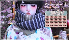 Wednesday[+] ~ Blooming Eyelashes @TSS (мιĸo ѕнιɴ Do ~ Wednesday[+]) Tags: the seasons story wednesday catwa bento eyelashes