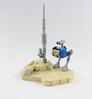 Desert Probot (JJbricks) Tags: futuristic scifi mech probot robot probe grey bley light blue yellow trans system classic space lego