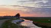Sunset Wold Aa (andzwe) Tags: zonsondergang woldaa sunset canal river rivier kanaal biker reza netherlands zwaan swan