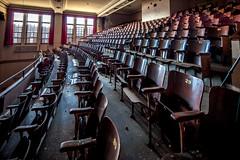 Redford High School, Detroit, MI (Thomas Hawk) Tags: america detroit detroitpublicschools michigan redfordhighschool usa unitedstates unitedstatesofamerica abandoned highschool school theater fav10 fav25