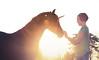 Believe. (Skye Auer) Tags: girl pony unicorn fairytale fantasy mythical myth magic magical evening summer play dressups