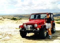 Choke_Cherry_902e ~ Sandi (BDC Photography) Tags: farmington newmexico usa 081 sandra jeep 4wheeldrive offroad 1999 1999jeepwranglersport chokecherrycanyon