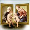 Mary and Elizabeth (jaci XIII) Tags: maria isabel pessoa mulheres crianças meninos jesus joãobatista pintura rafael people women children boys painting