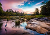 2012_india-99 (David_Passerat) Tags: blue dusk flow heron inde india kuruva landscape longexposure nature orange outdoor pink river riverscape rocks trees water