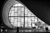 Heydar Aliyev Center (Laszlo Horvath.) Tags: heydar center baki baku azerbaijan nikon aliyev nikond7100 sigma1835mmf18art blackwhite bkackandwhite bw monochrome