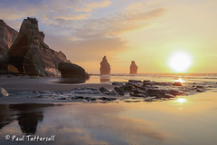 _MG_0864 (Paulyt_10) Tags: beach sunset taranaki newzealand