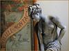 Statue en zinc de la S.A. Vieille Montagne, Maison de la Métallurgie et de l'Industrie de Liège, Belgium (claude lina) Tags: claudelina belgium belgique belgïe liège musée museum maisondelamétallurgieetdelindustriedeliège zinc vieillemontagne statue