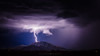 Tippy Top (Mike Olbinski Photography) Tags: 20170812 arizona canon50mm12l canon5dsr clouds dragoonmountains lightning monsoon mopworkshops mountains rain southeastarizona stormchasing