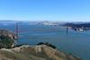Golden Gate and San Francisco (Ian E. Abbott) Tags: goldengatebridge goldengate sanfrancisco sanfranciscobay goldengatenationalrecreationarea ggnra marincounty vistapoint conzelmanroad