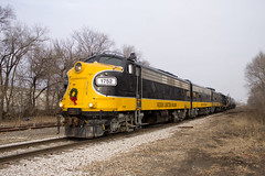 PREX 1752 West (BSTPWRAIL) Tags: kjry prex keokuk junction railway railroad rail road way pioneer fp9a fp9b gp20 locomotive locomotives local transfer train peoria illinois