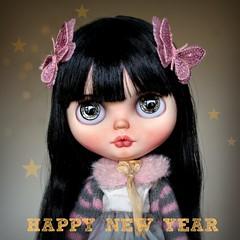 🌟Happy New Year🌟 (AlmondDoll) Tags: almonddoll almonddollart happy new year blythe doll customblythe