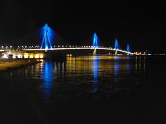 Φωτεινό και λαμπερό το 2018!!  P1030960 (amalia_mar) Tags: ρίοαντίρριο γέφυρα χαρίλαοστρικούπησ ελλάδα bridge lights night blue black sea sky water reflections αντανακλάσεισ sundaylights happynewyear2018 smileonsaturday lightopia