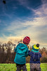 learning to fly (freundsport) Tags: sky kite wind child free germany
