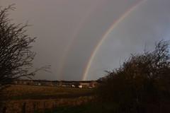 rainbow (kokoschka's doll) Tags: rainbow westauckland bishopauckland clouds sky