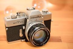 Minolta SRT101 (Role Bigler) Tags: camera filmslr gear kamera lens madeinjapan minolta photogear rokkor rokkorpf rokkorpf117f55mm slr srt101 spiegelreflex spiegelreflexkamera cameraporn