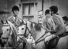 It's such a social affair... (judy dean) Tags: 2018 judydean hunt meet newyear stowonthewold horses riders