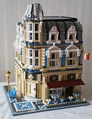 10214alternative(2) (InyongLee) Tags: lego design moc modular legomodular legobuilding legoalternate legoalternative lego10214 legotowerbridge cornerbuilding legocornermodular cornermodular legomuseum legobakery legomoc 레고 レゴ
