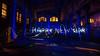 Happy New Year (diwan) Tags: germany deutschland sachsenanhalt saxonyanhalt magdeburg city stadt place werkhalle factorybuilding taschenlampe flashlight farbe color blau blue light lightpainting teamwork fortwoisbetterthanalone bewegung movement crop nacht night langzeitbelichtung longexposures diwan fotogruppe fotogruppemagdeburg canoneos650d canon eos 2013 geo:lon=11654923 geo:lat=52140551