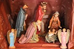 LES GRANDS ROIS MAGES sont venus... (Diké) Tags: fêter lepiphanie rois dimanche 7 janvier 2017 visite mages à jésus méditation messie révélé au monde dikée image crèche support