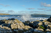 Big Splash - DSC_1000 (John Hickey - fotosbyjohnh) Tags: 2018 january2018 irishsea seaside seascape seashore rocks coast coastline island lambayisland portrane dublin ireland