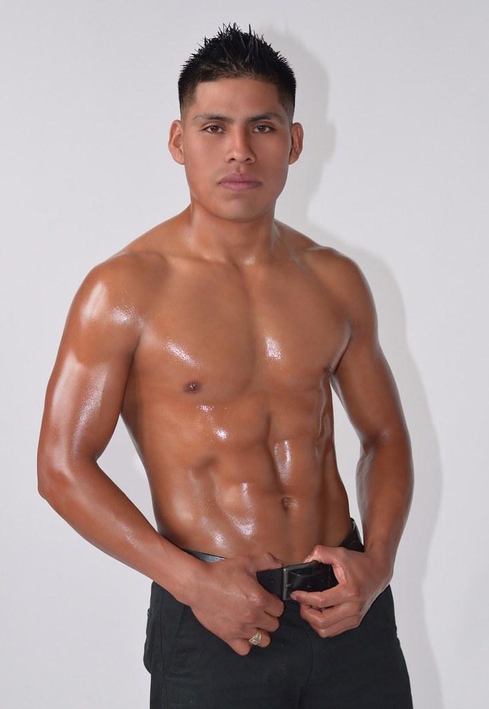 hot naked latino male body