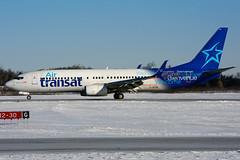 C-GTQC (Air Transat) (Steelhead 2010) Tags: airtransat boeing b737 b737800 yhm creg cgtqc