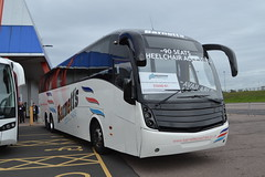 Barnett's Coaches (Will Swain) Tags: bus coach live birmingham nec 4th october 2017 buses transport travel uk britain vehicle vehicles county country england english coaches barnetts