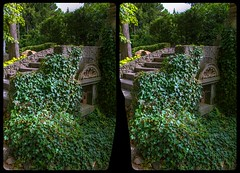 Stairs in the castle park 3-D / CrossView / Stereoscopy / HDR / Raw (Stereotron) Tags: sachsenanhalt saxonyanhalt ostfalen harz mountains gebirge ostfalia hardt hart hercynia harzgau park garden efeu stairs europe germany quietearth crosseye crosseyed crossview xview cross eye pair freeview sidebyside sbs kreuzblick 3d 3dphoto 3dstereo 3rddimension spatial stereo stereo3d stereophoto stereophotography stereoscopic stereoscopy stereotron threedimensional stereoview stereophotomaker stereophotograph 3dpicture 3dglasses 3dimage twin canon eos 550d yongnuo radio transmitter remote control synchron kitlens 1855mm tonemapping hdr hdri raw
