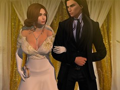 A Touch of Gold (Aleriah.) Tags: avaway junbug fameshed exile deadwool truth hair zenith addams gold romance formal ball