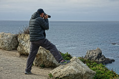 pose for the photo! (zubinkumar) Tags: pose photography photographer man bigsur highway1 sea ocean funny