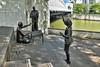 From Chettiars to Financiers (chooyutshing) Tags: chettairstofinancers sculptures bronze chernlianshan 2002 riverpromenade singaporeriver singapore