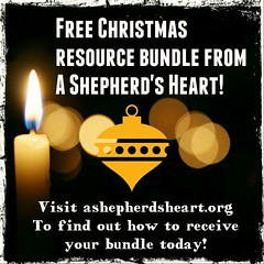 Wanted to let you know about an early Christmas present from A Shepherd's Heart which is a Christmas Resource Bundle! (ashepherdsheart) Tags: jesus advent faith ashepherdsheart peace christmas joy christianity christian hope holyspirit christfollower