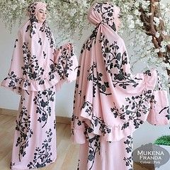 MUKENA FRANDA PINK A35 BAHAN MONALISA IMPORT FIT XXL + TAS 190.000 (ariloveyani) Tags: instagramapp square squareformat iphoneography uploaded:by=instagram